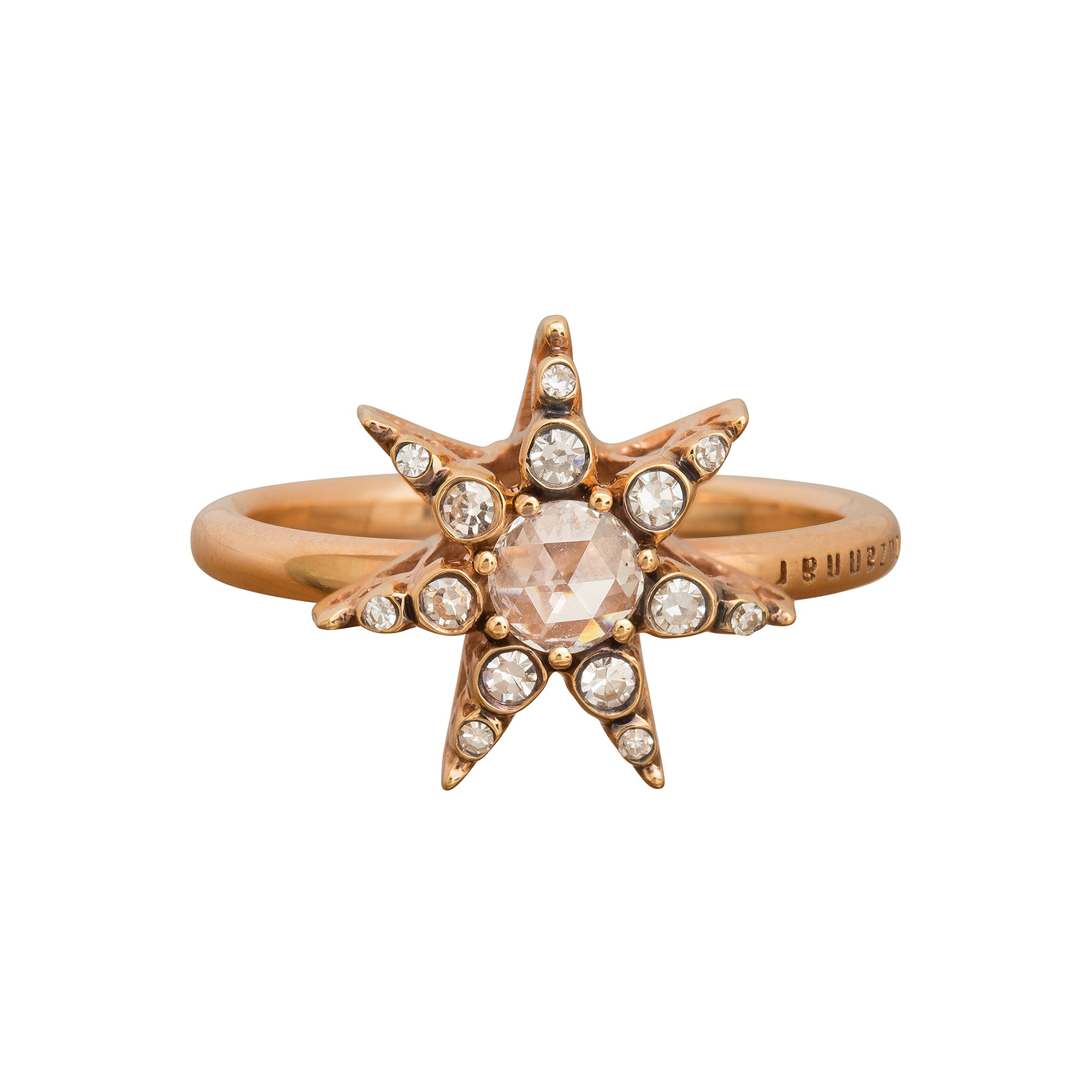 Istanbul Diamond Star Ring by Selim Mouzannar for Broken English Jewelry