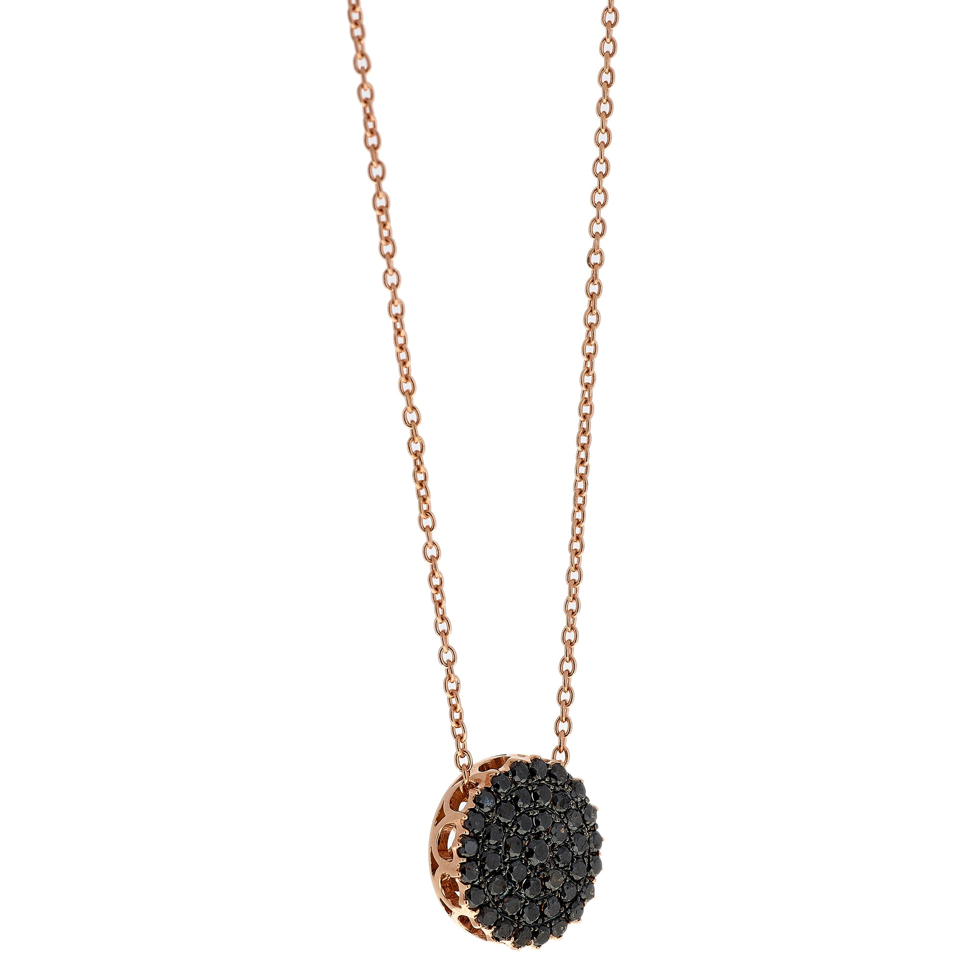 Black Diamond Necklace by Selim Mouzannar for Broken English Jewelry
