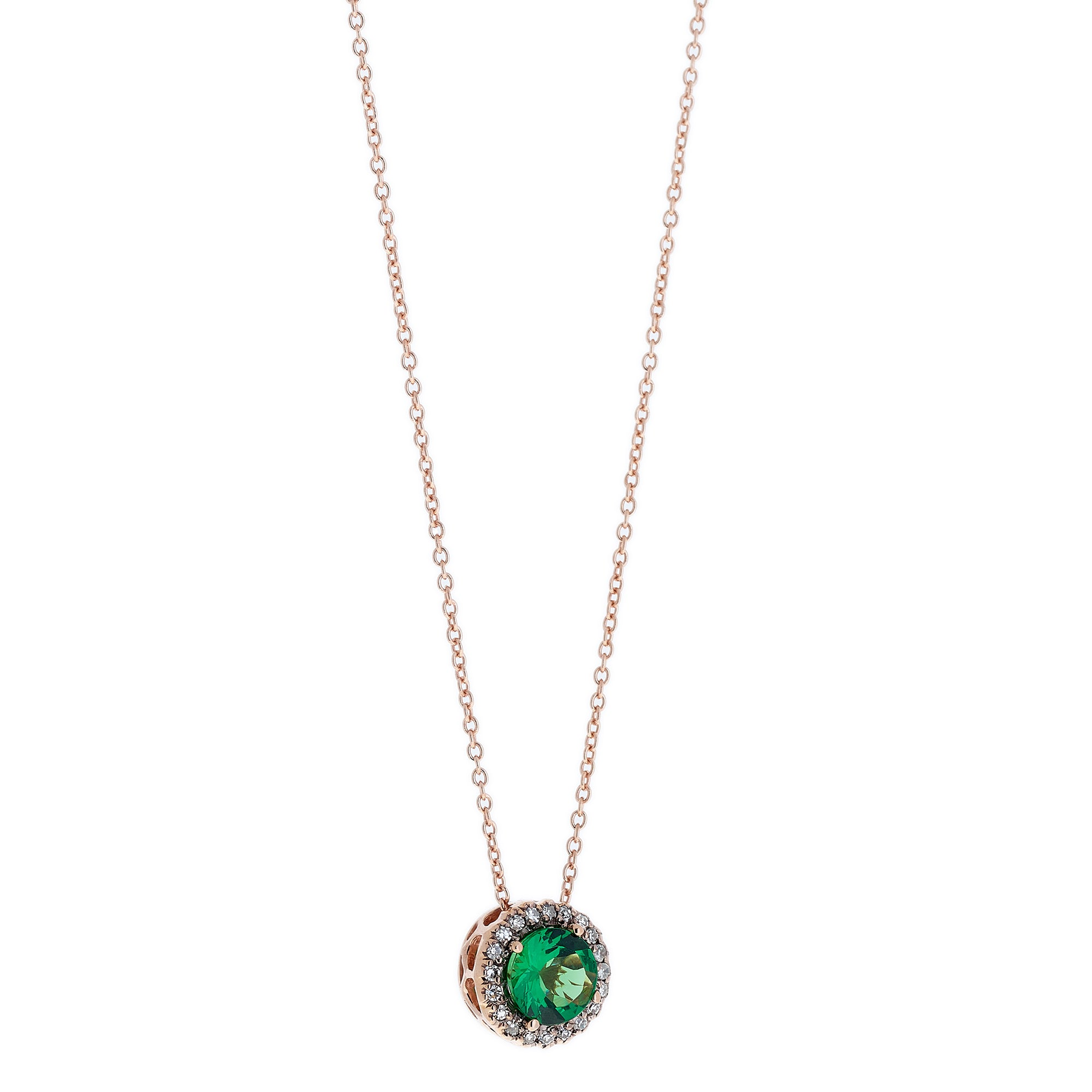 Tsavorite Necklace by Selim Mouzannar for Broken English Jewelry