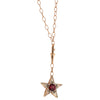 Rhodolite and Brown Diamond Necklace by Selim Mouzannar for Broken English Jewelry
