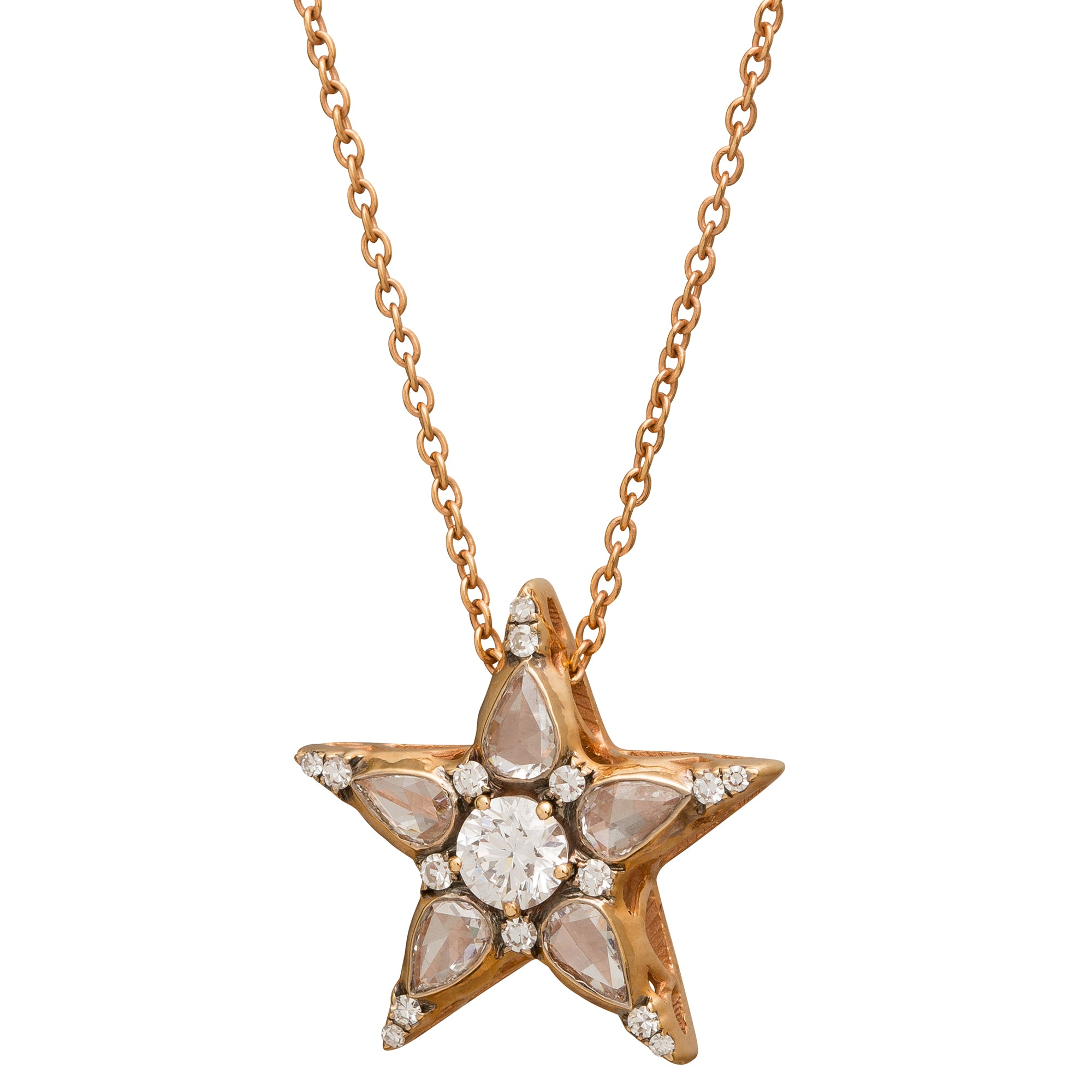 Istanbul Star Pendant Necklace by Selim Mouzannar for Broken English Jewelry