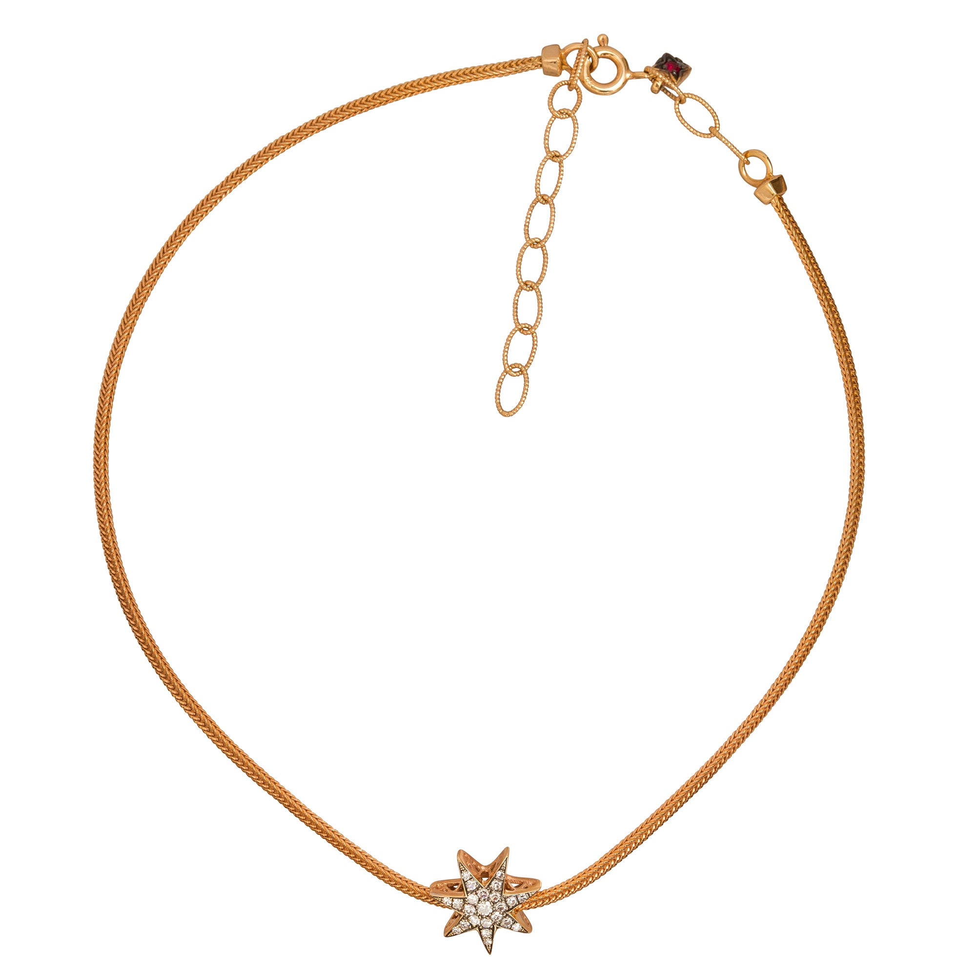 Istanbul Star Choker by Selim Mouzannar for Broken English Jewelry