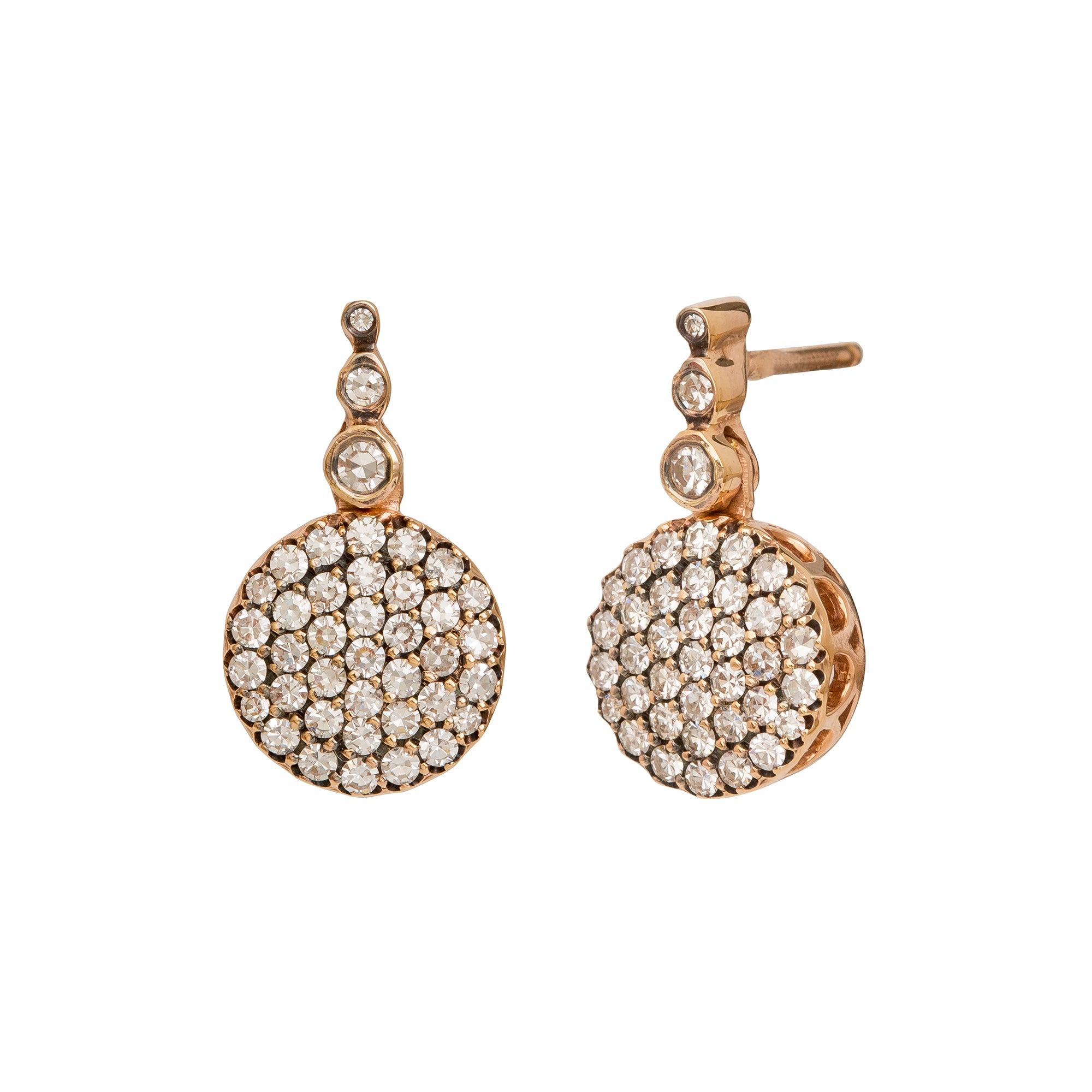 White Diamond Beirut Earrings - Selim Mouzannar - Earrings | Broken English Jewelry