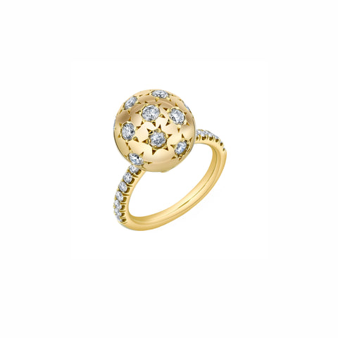Pave Ethel Ring - Diamond - Sarah Hendler - Rings | Broken English Jewelry