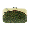 Silvia Furmanovich Marquetry Water Lily with Dragonfly Clutch