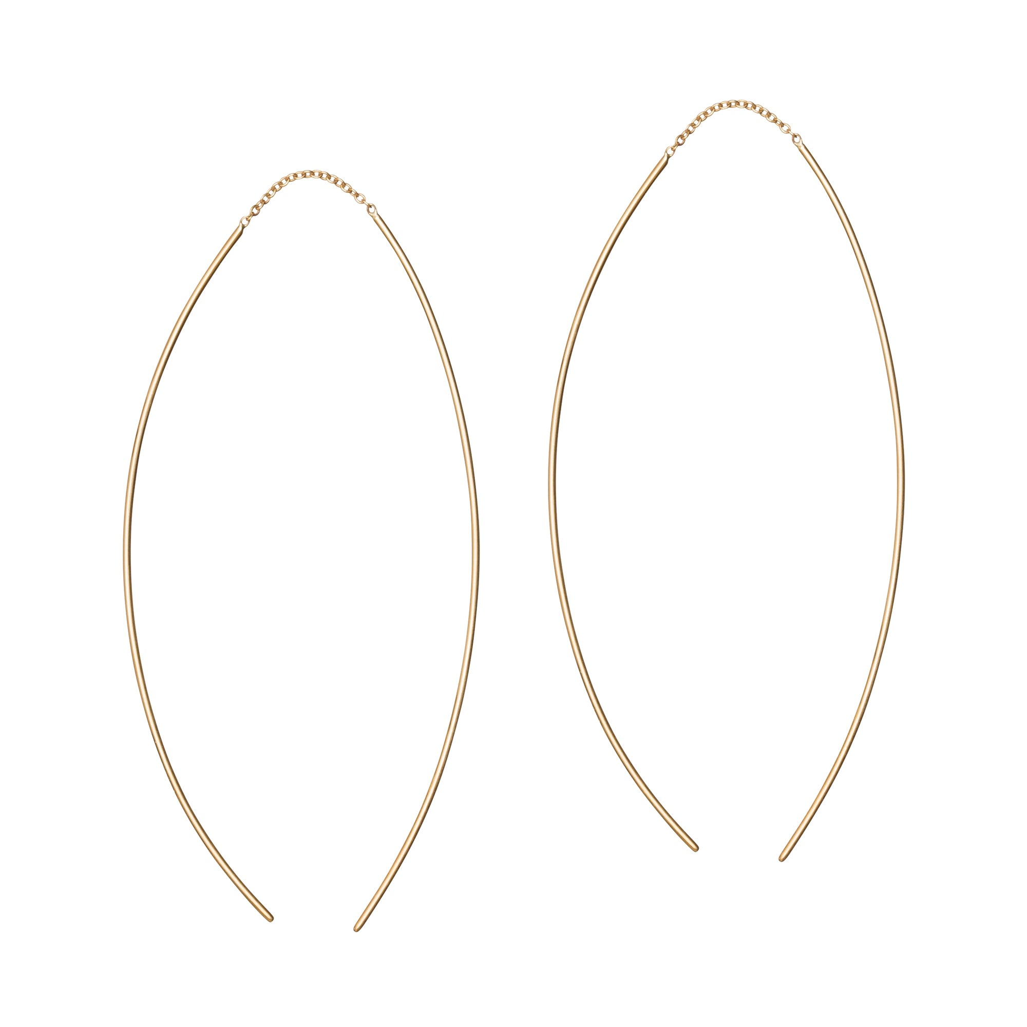 Pull Through Earrings by Suel for Broken English Jewelry