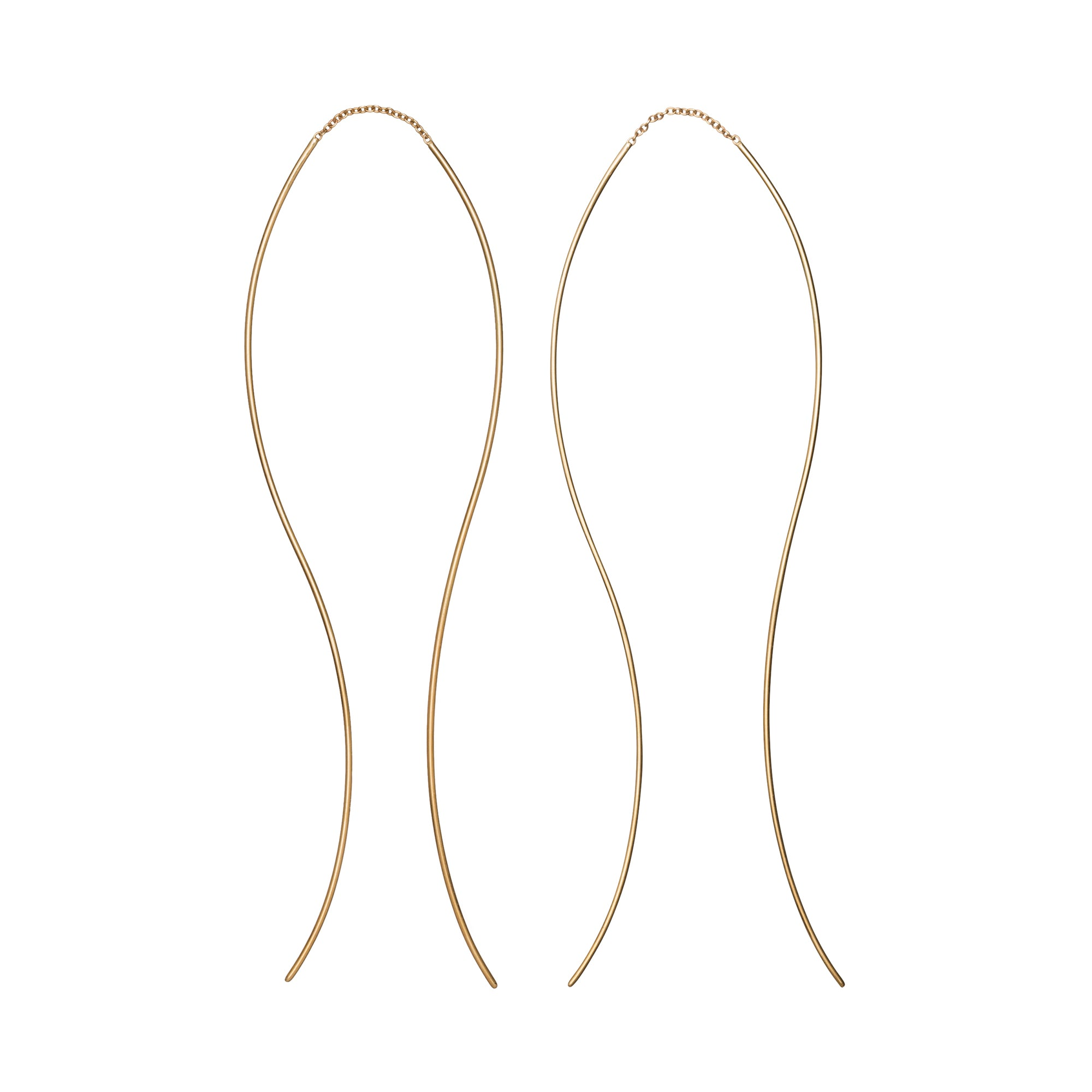 Frequency Pull Through Earrings by Suel for Broken English Jewelry