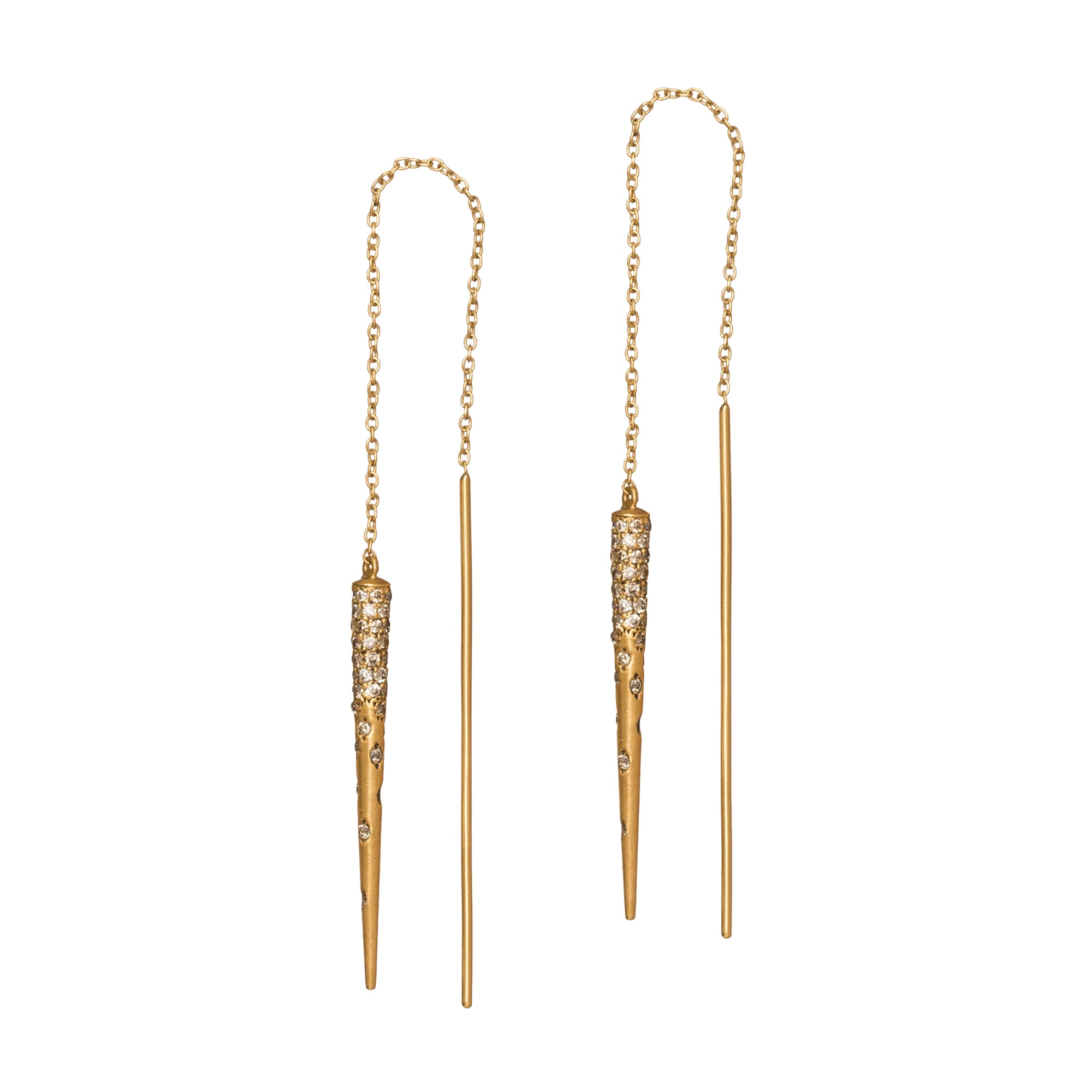 Cone Drop Earrings by Suel for Broken English Jewelry