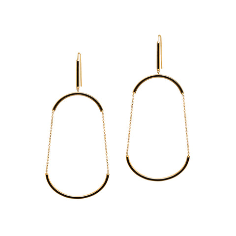 U Earrings - Suel - Earrings | Broken English Jewelry