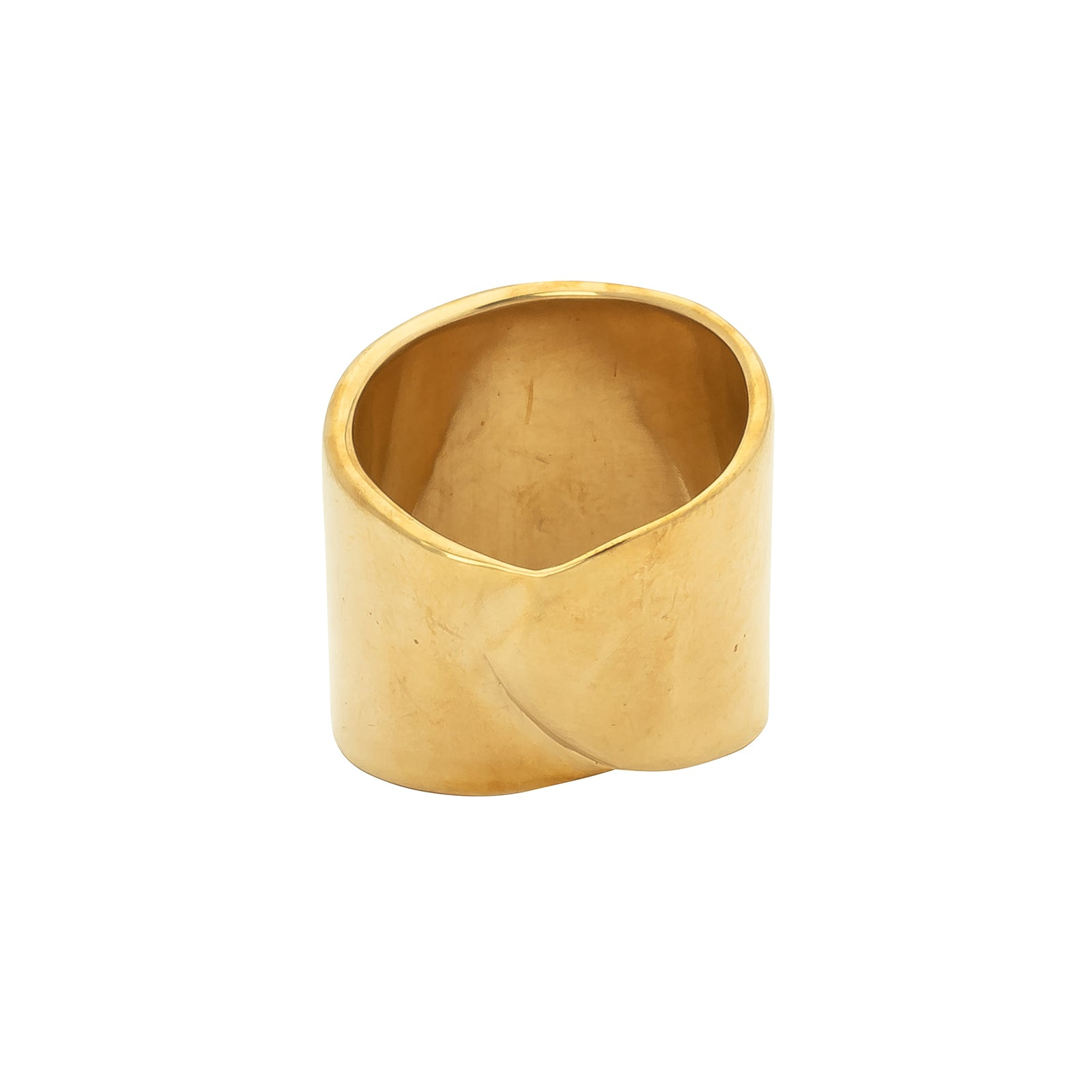 Ariana Boussard-Reifel Atum Ring - Brass - Rings - Broken English Jewelry