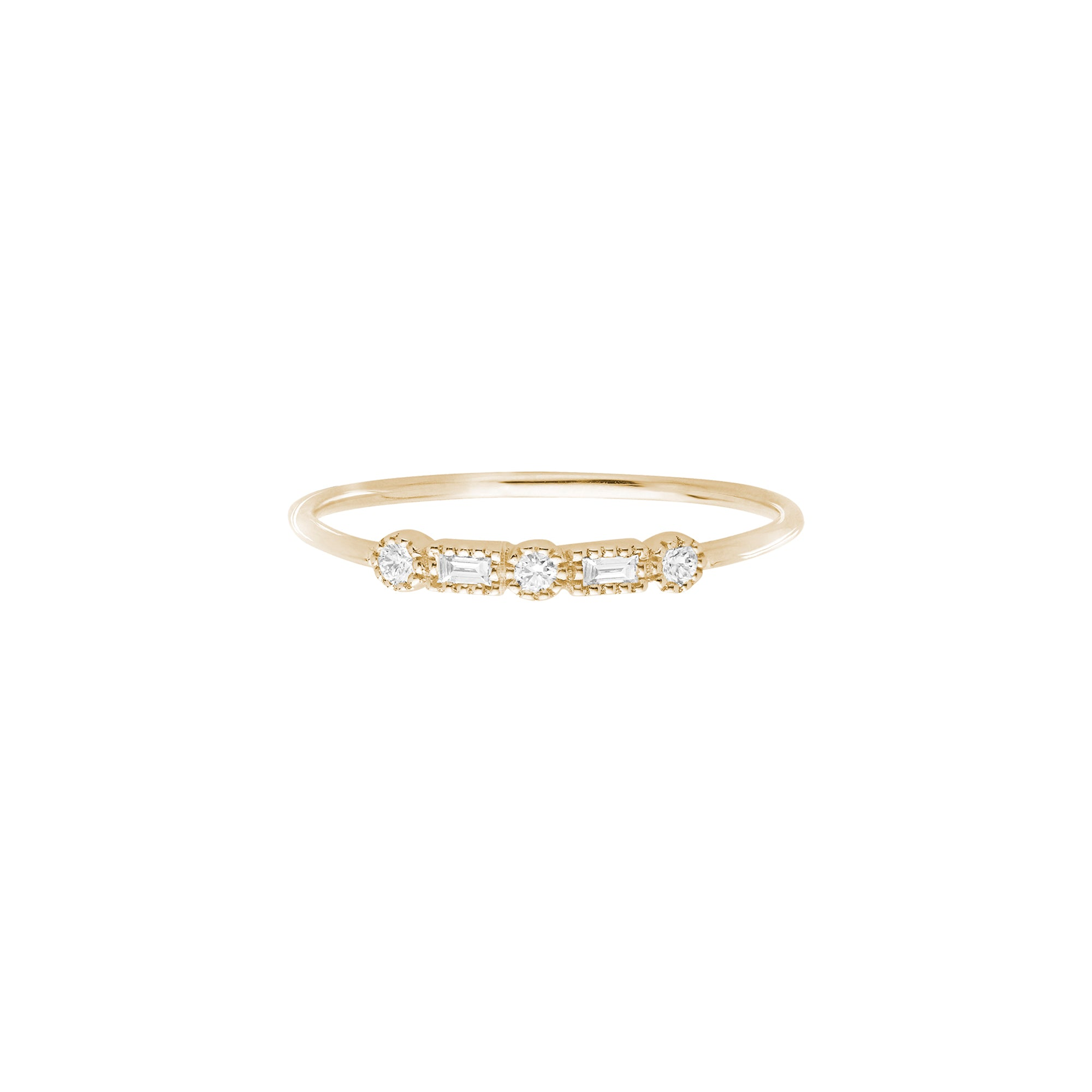 Serenity Simple Ring