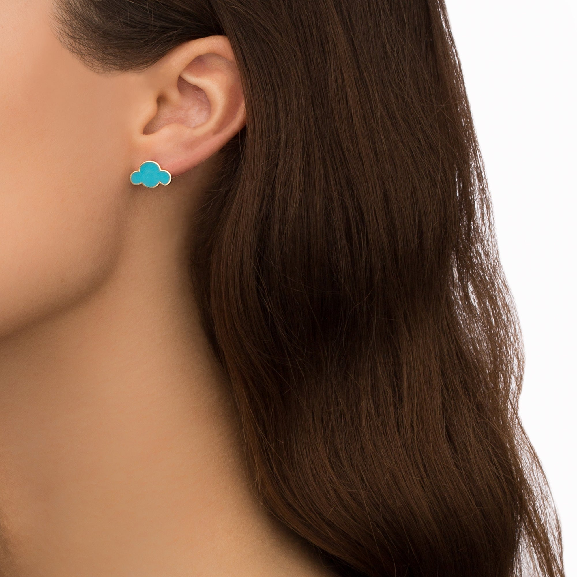 Blue Cloud Earring - Suel - Earrings | Broken English Jewelry