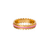 SUEL Jewelry Baby Pink Scallop Ring - Rings - Broken English Jewelry