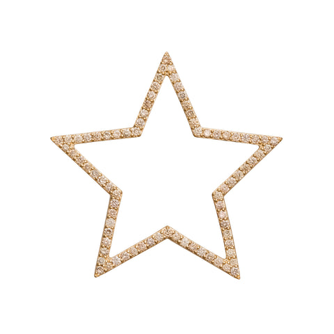 40mm Star Pendant - Rosa de la Cruz - Charms & Pendants | Broken English Jewelry
