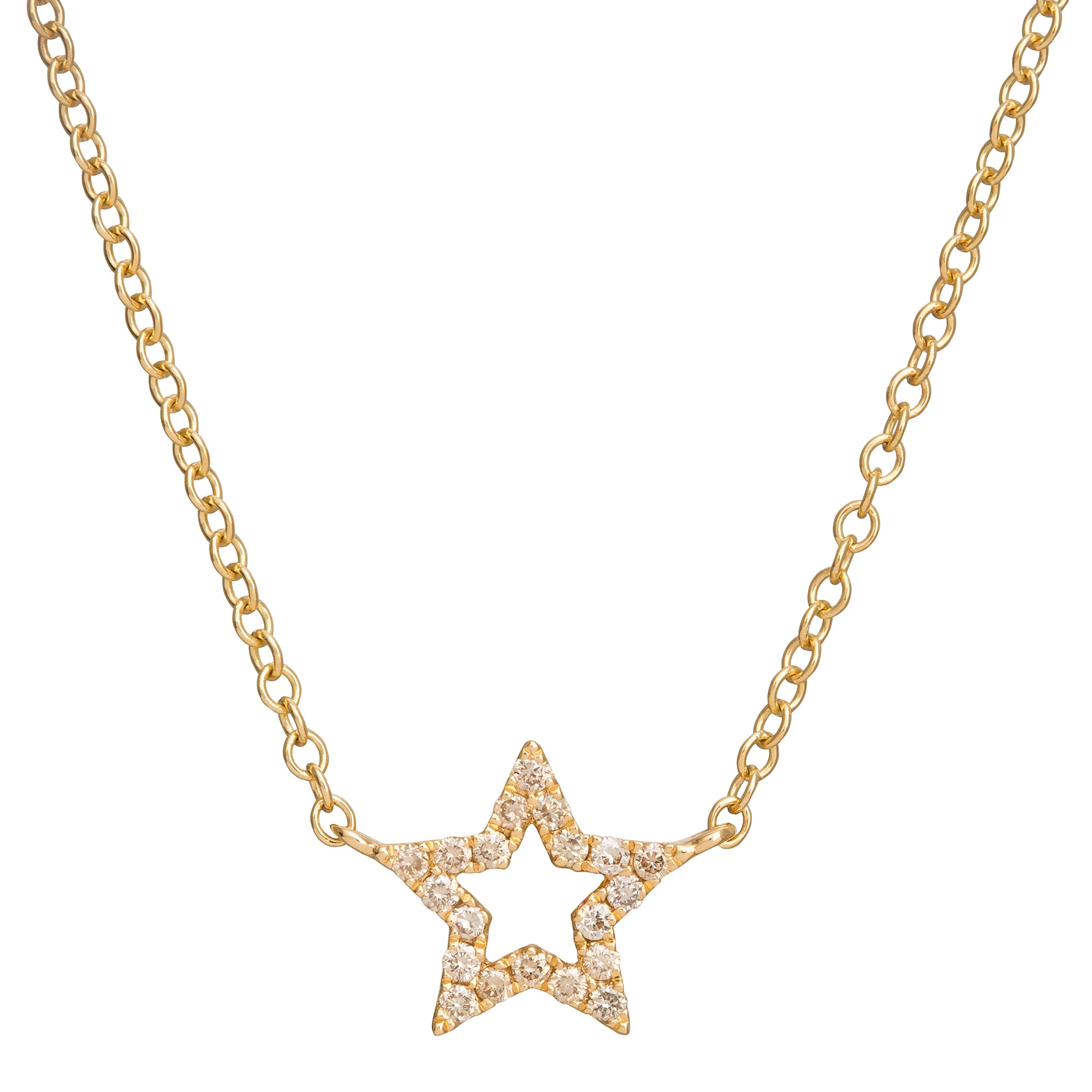 Star Charm Necklace - Rosa de la Cruz - Necklaces | Broken English Jewelry