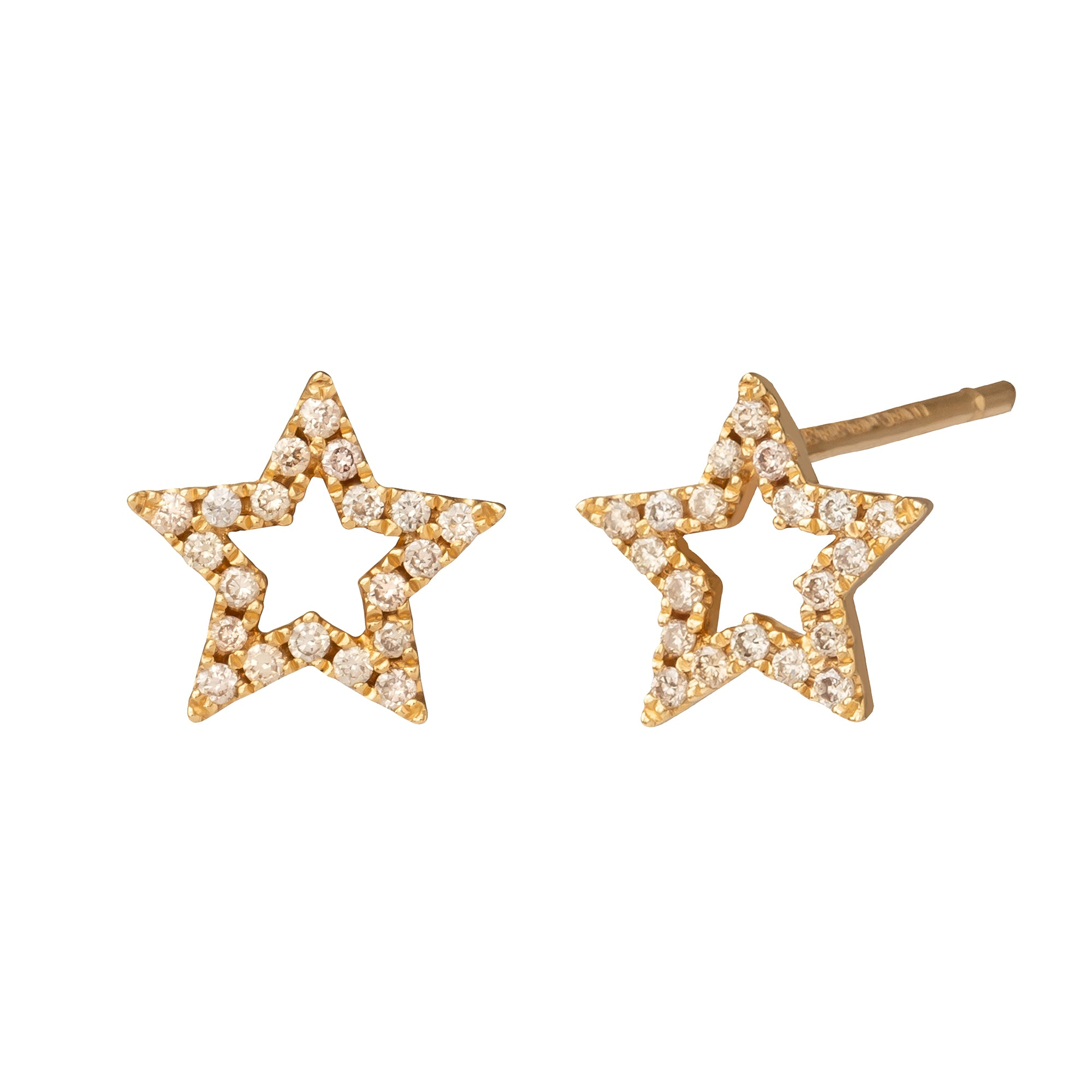 Star Studs - Rosa de la Cruz - Earrings | Broken English Jewelry