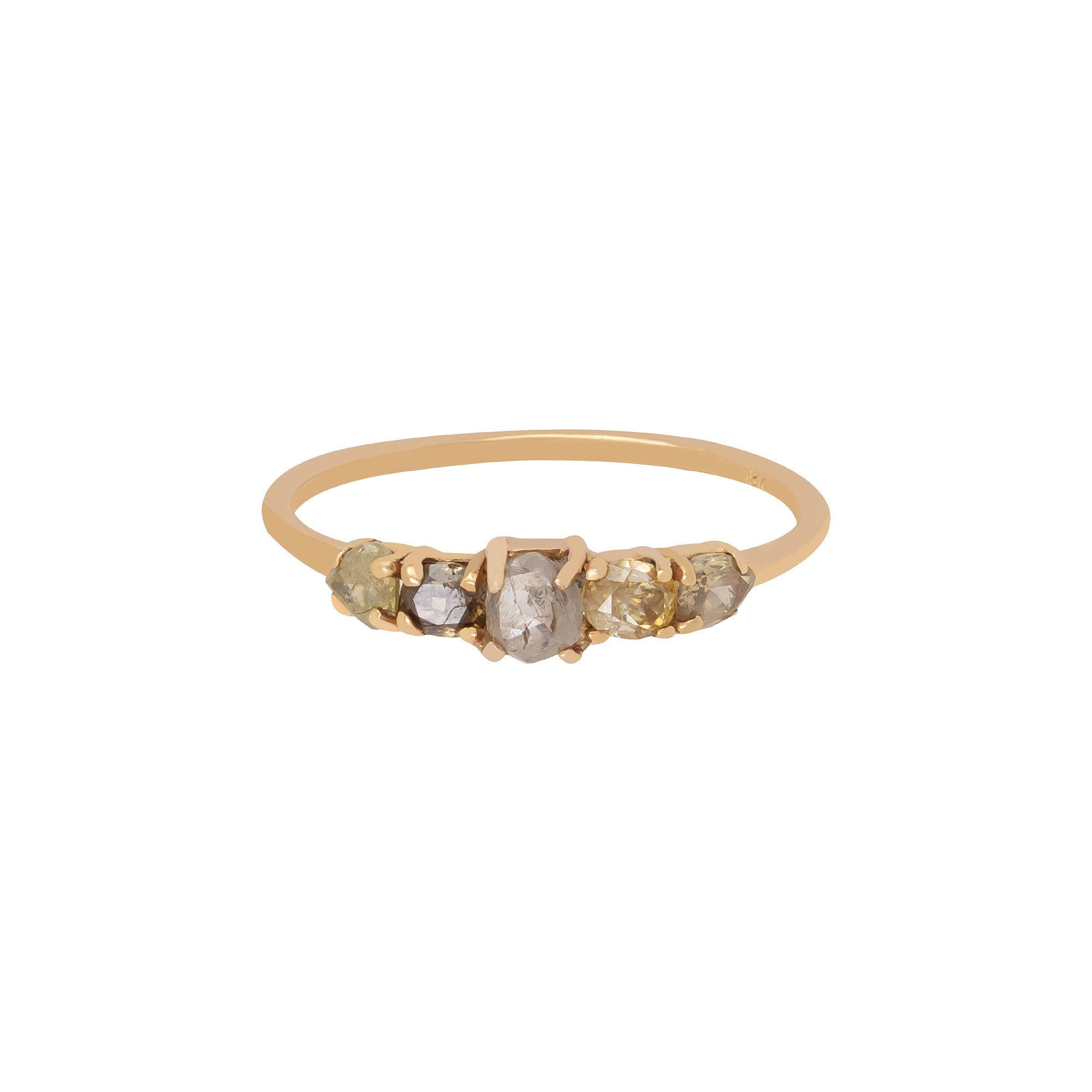 Stardust Ring 5 Rough Diamond Ring - Xiao Wang - Rings | Broken English Jewelry