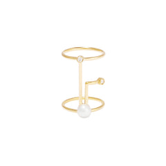 Simple Point Ring by Sibylle von Munster for Broken English Jewelry