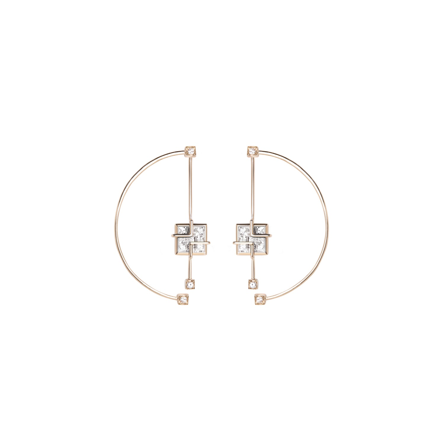 Arco Earrings by Sibylle von Munster for Broken English Jewelry