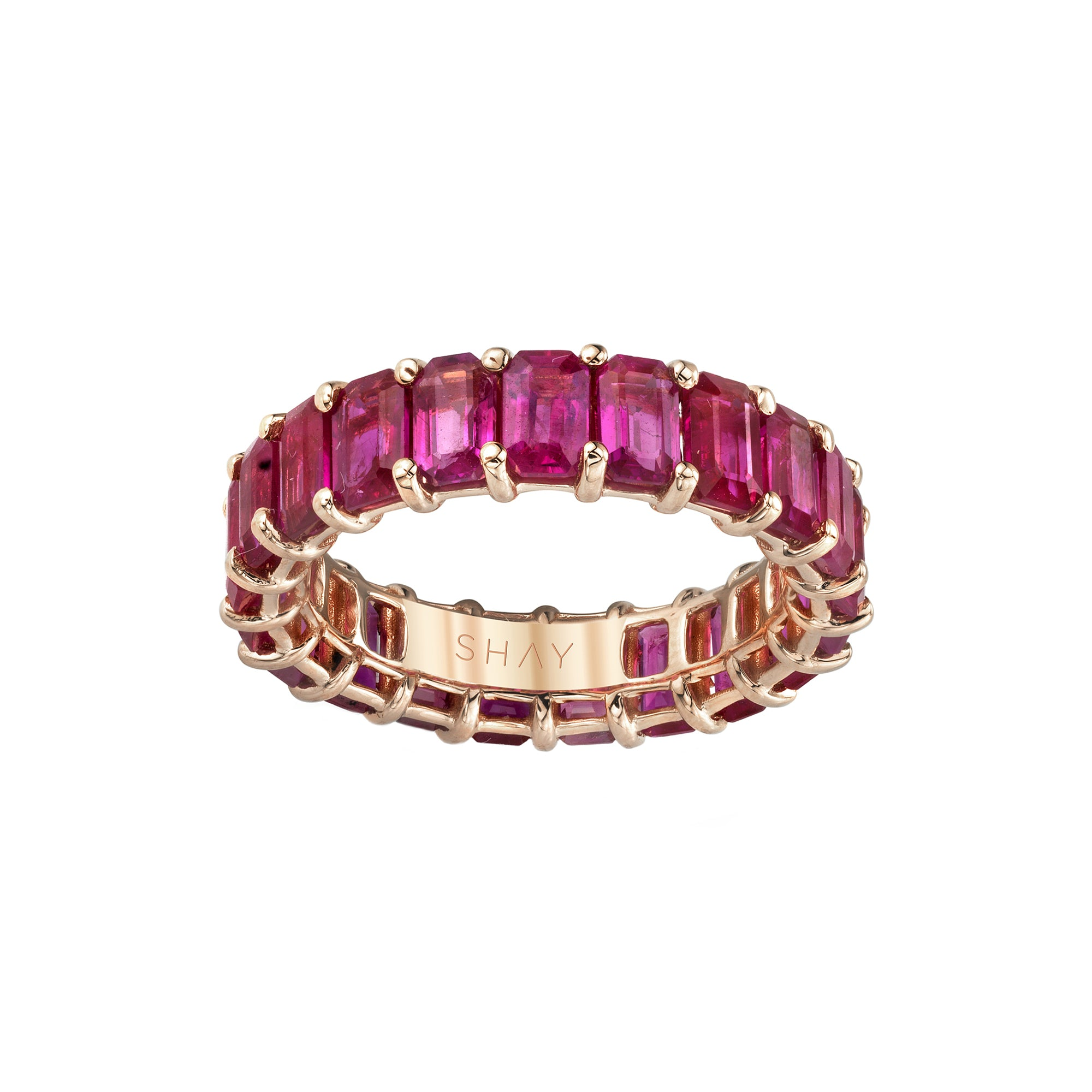 Ruby Eternity Ring - Shay - Rings | Broken English Jewelry