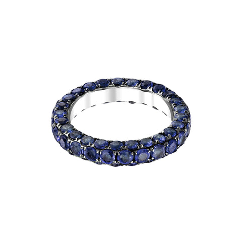 Blue Sapphire Band by Shay for Broken English Jewelry