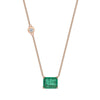 Zambian Emerald Necklace by Shay for Broken English Jewelry