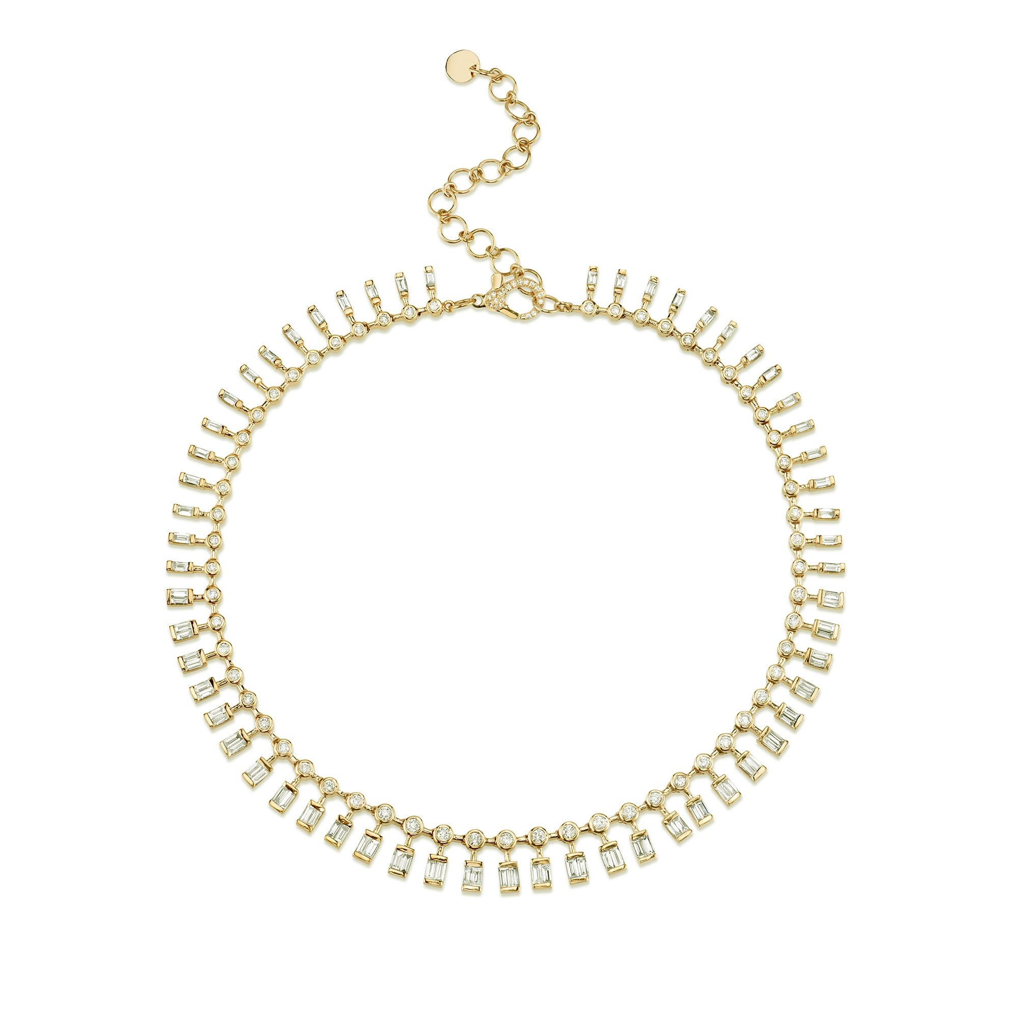Dot Dash Diamond Necklace by Shay for Broken English Jewelry