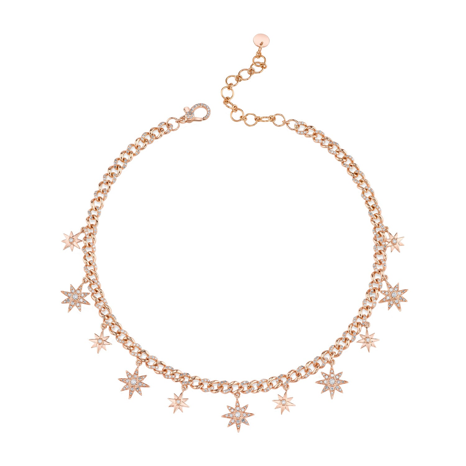 Star Drop Choker by Shay for Broken English Jewelry