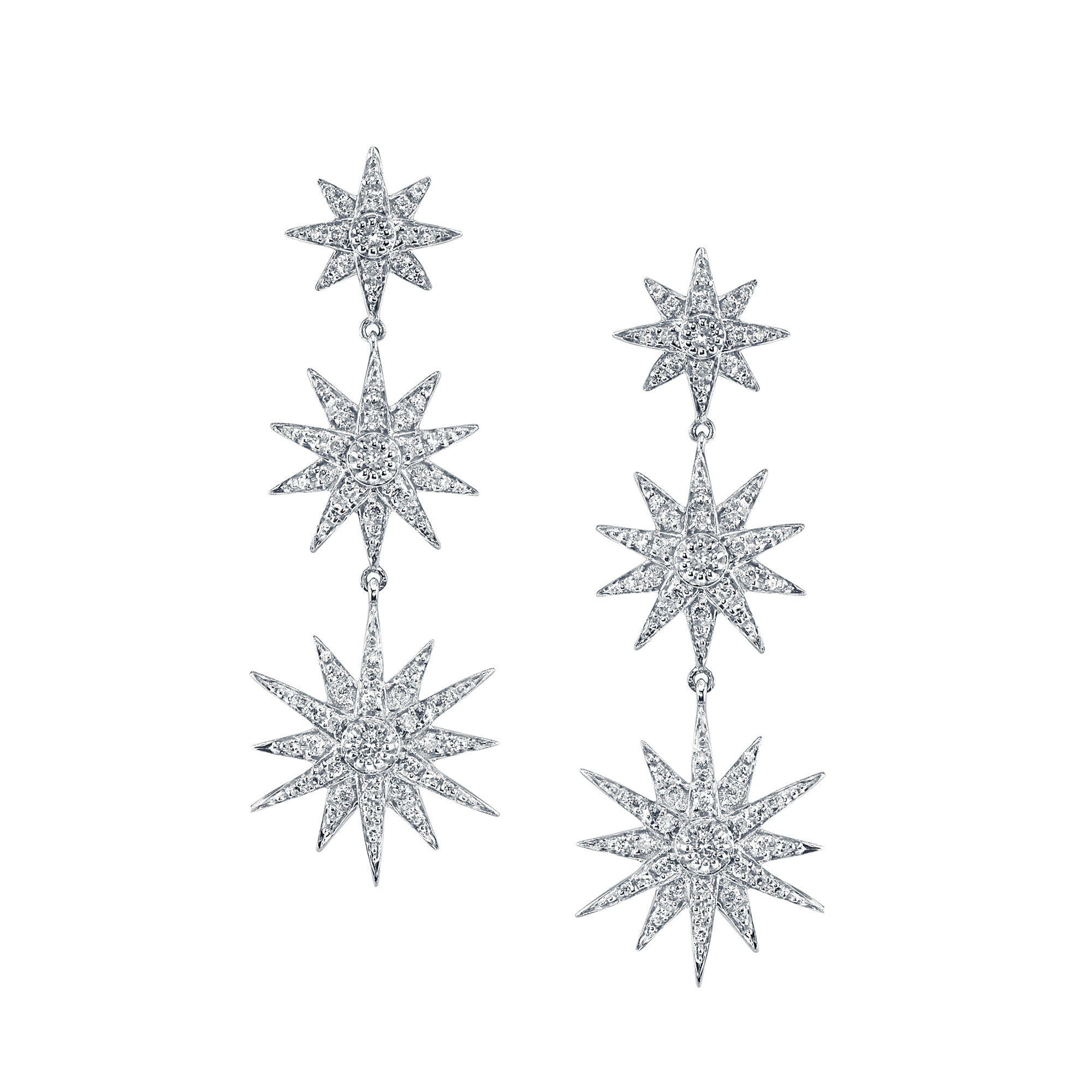 Starburst Drop Earrings by Shay for Broken English Jewelry