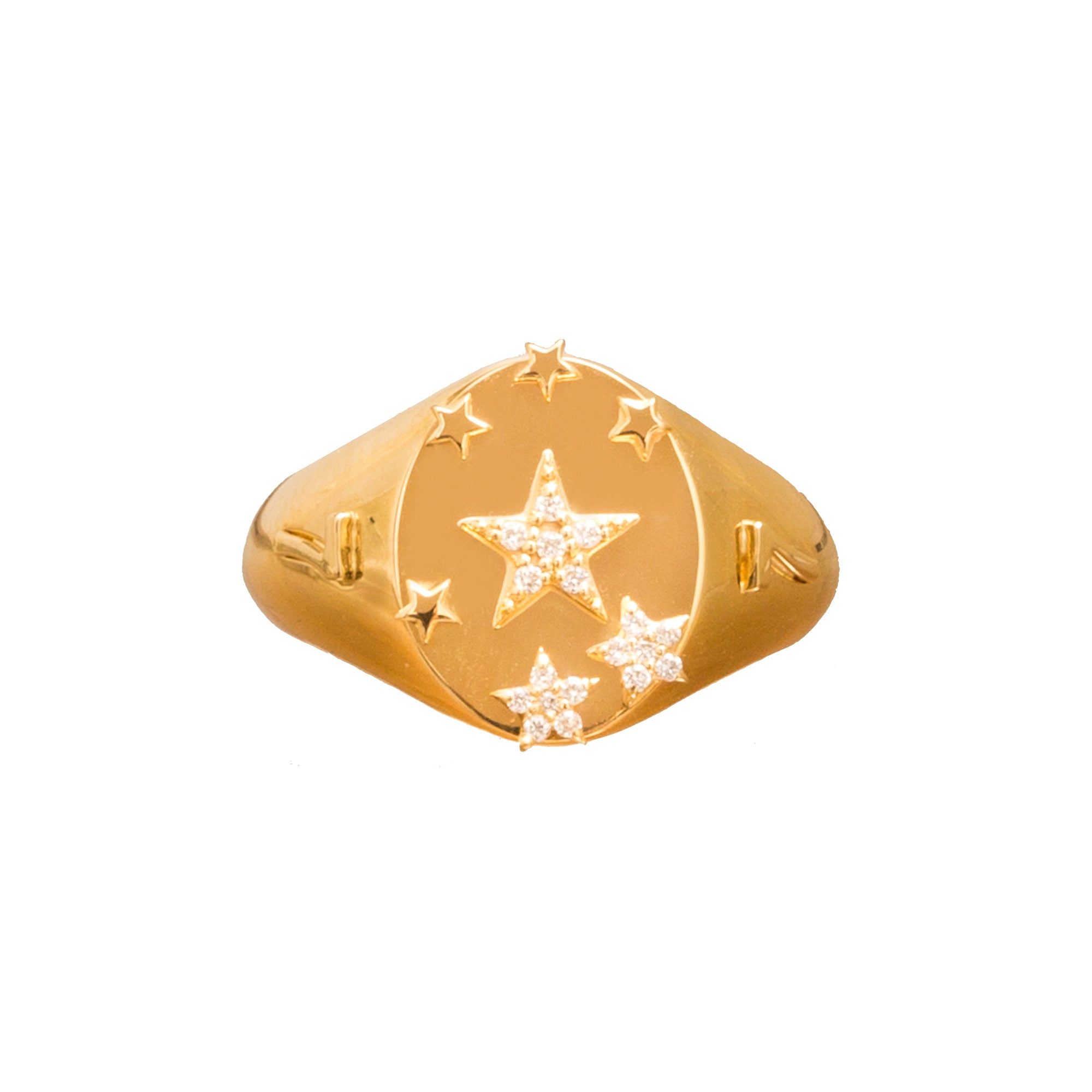 Seven Stars Ring by Foundrae for Broken English Jewelry