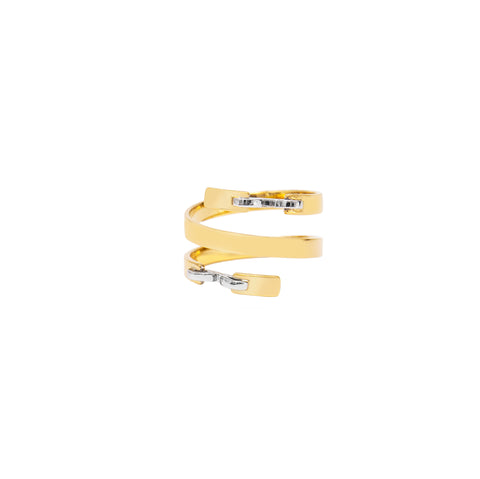 Stapled Coil Ring - Swati Dhanak - Rings | Broken English Jewelry