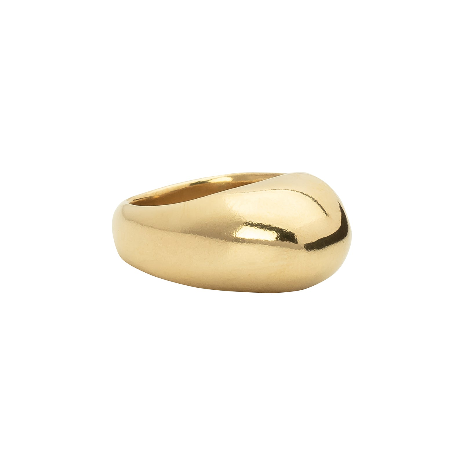 Ariana Boussard-Reifel Highwood Ring - Brass - Rings - Broken English Jewelry