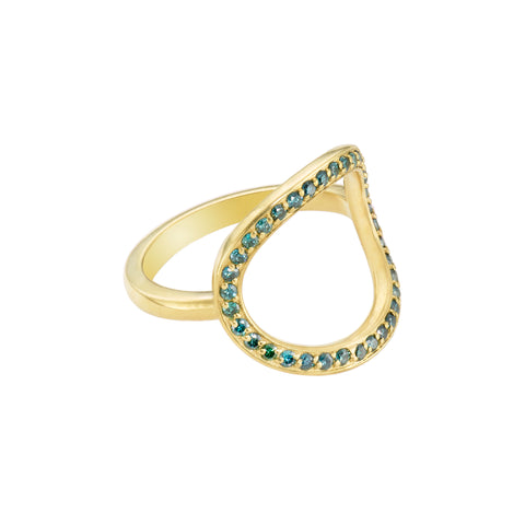 Circle Ring by Tara Hirshberg for Broken English Jewelry
