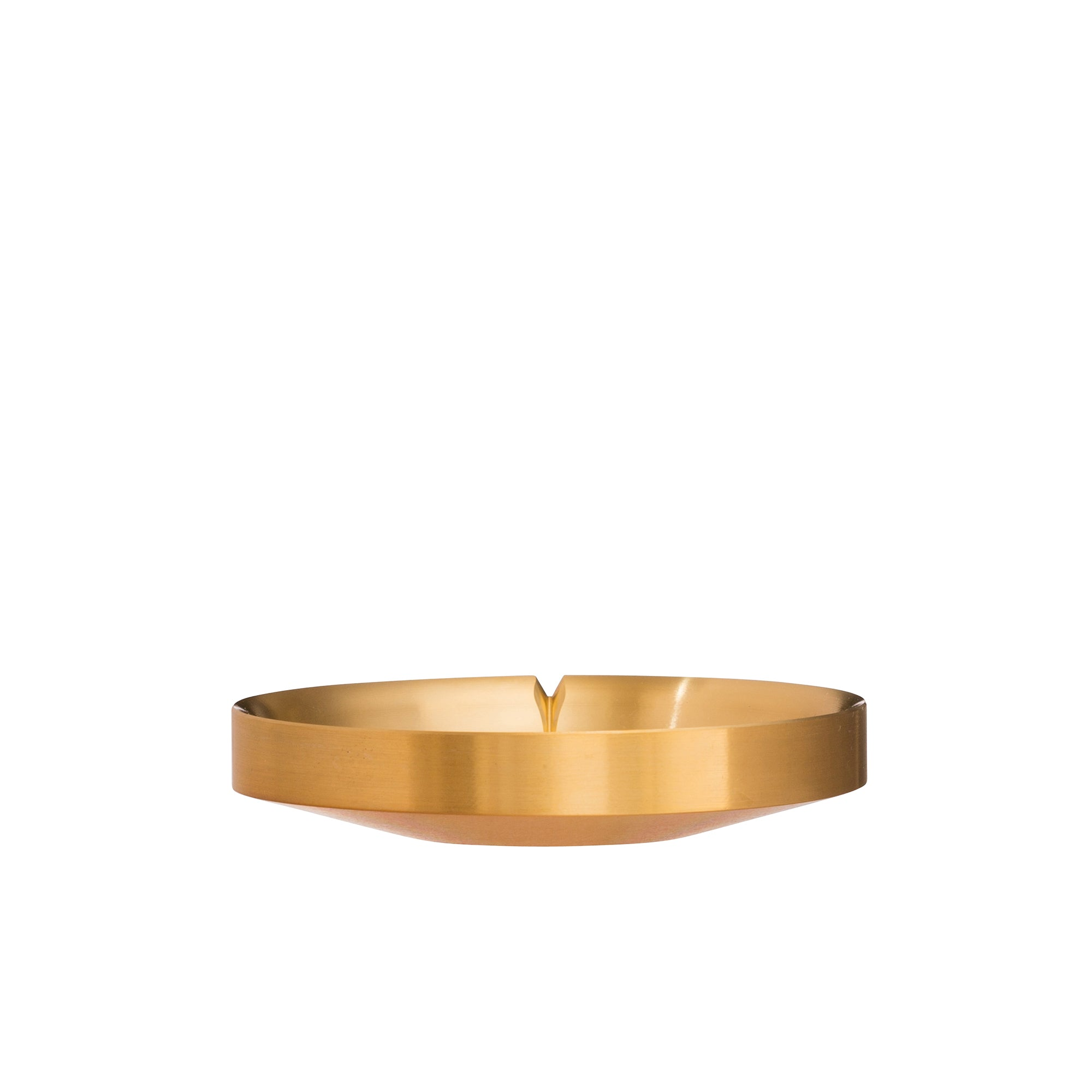 Natural Brass Agave Basin by Tennen for Broken English Jewelry