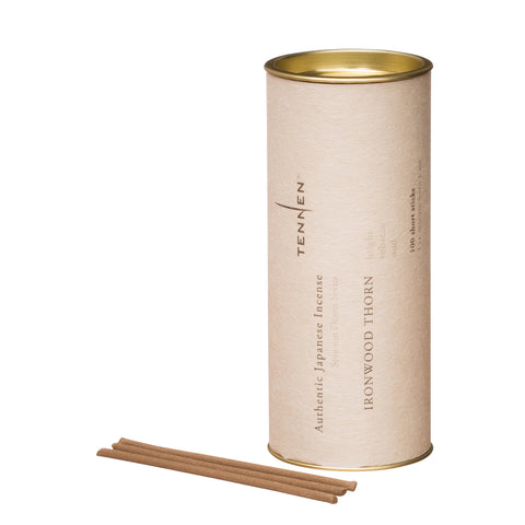 Ironwood Thorn Incense Tube by Tennen for Broken English Jewelry