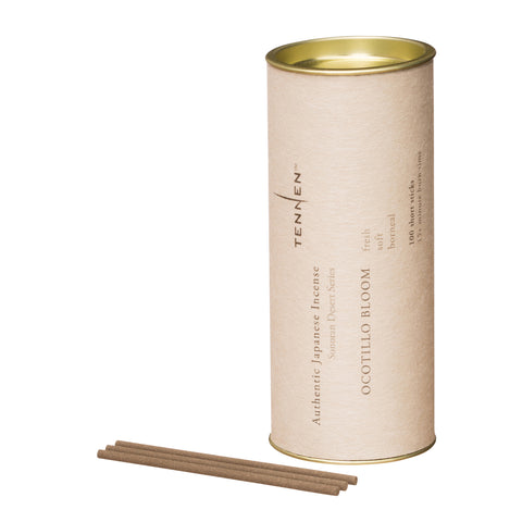 Ocotillo Bloom Incense Tube by Tennen for Broken English Jewelry