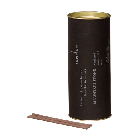 Mountain Stone Incense Tube by Tennen for Broken English Jewelry