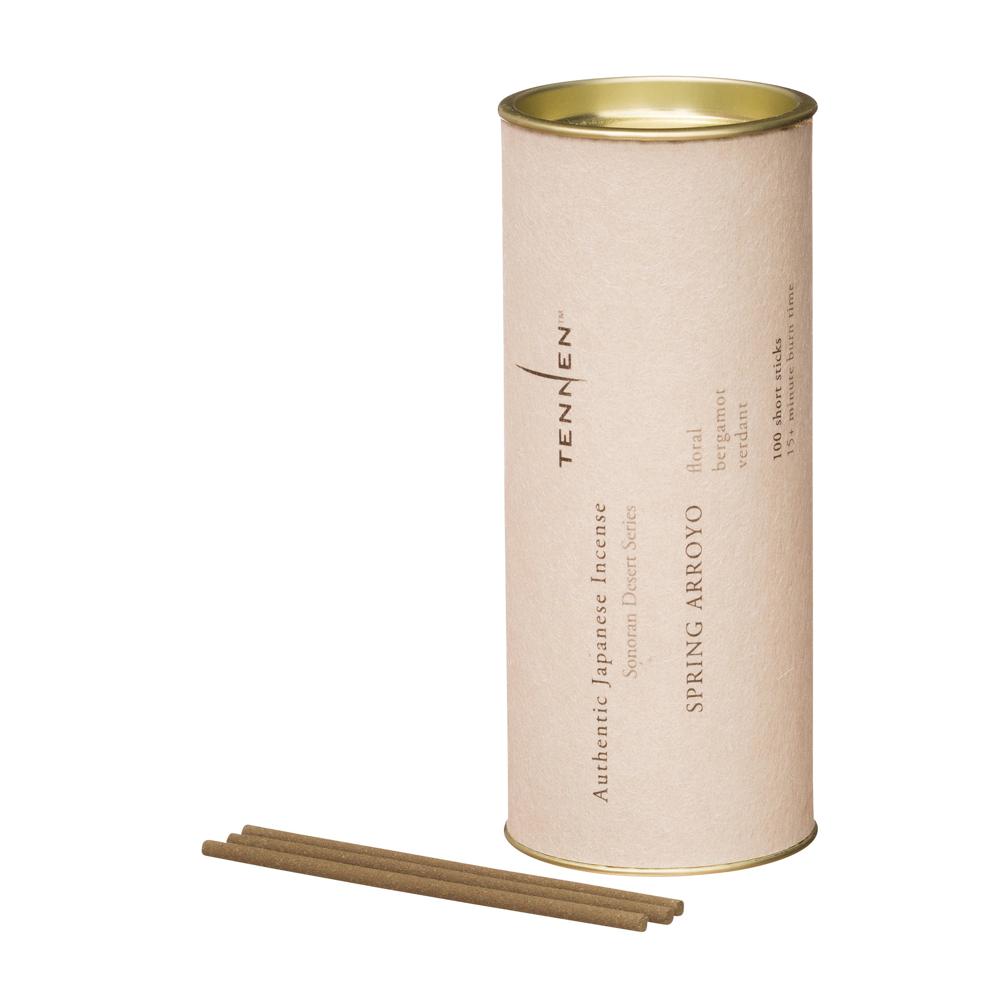 Spring Arroyo Incense Tube by Tennen for Broken English Jewelry