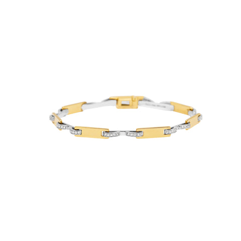 Stapled Plate Bracelet - Swati Dhanak - Bracelets | Broken English Jewelry