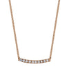 Gabriela Artigas & Company Mini Axis Necklace - Rose Gold - Necklaces - Broken English Jewelry