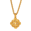 Chanel Flowers and Tendrils Pendant Necklace - Antique & Vintage - Necklaces | Broken English Jewelry