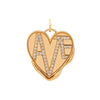 Foundrae Vestige Crest Amate Charm - Charms & Pendants - Broken English Jewelry