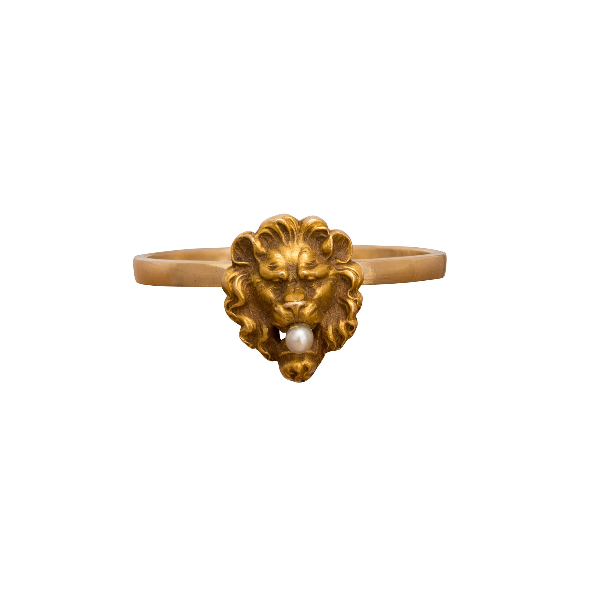 Lion Ring by Vintage Jewelry for Broken English Jewelry