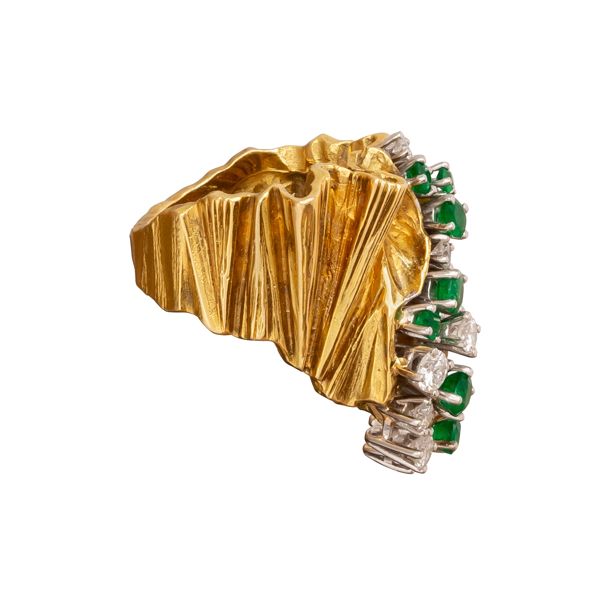 Sculptural Gubelin Ring - Antique & Vintage Jewelry - Rings | Broken English Jewelry