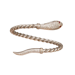 Diamond Snake Bracelet - Broken English Jewelry