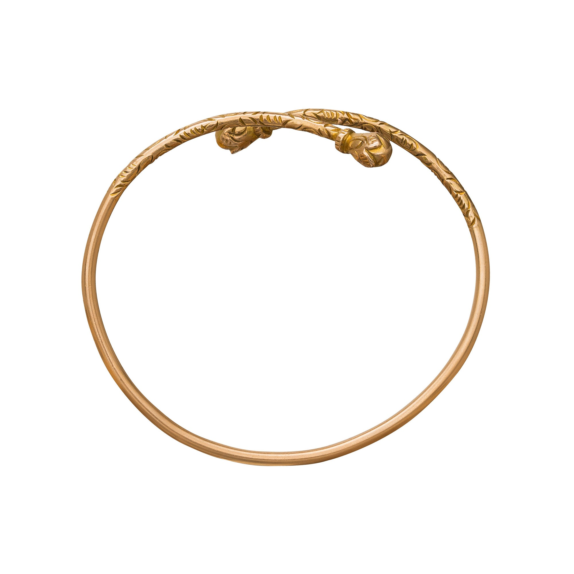 Engraved Bangles - Vintage Jewelry - Bracelets | Broken English Jewelry