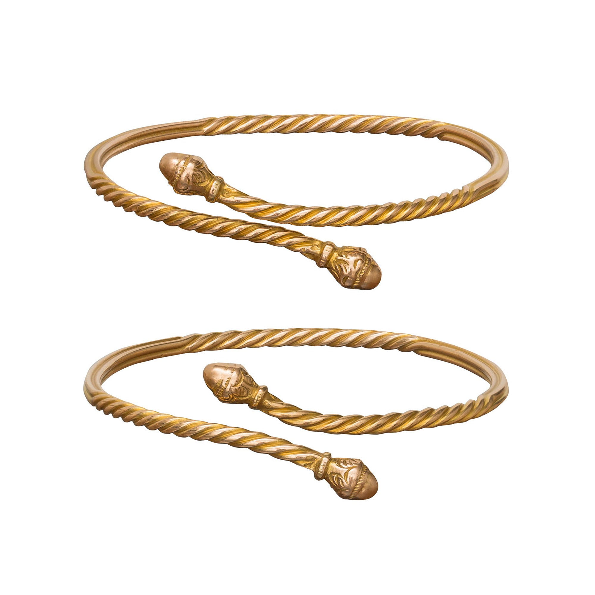 Twisted Bangles - Vintage Jewelry - Bracelets | Broken English Jewelry