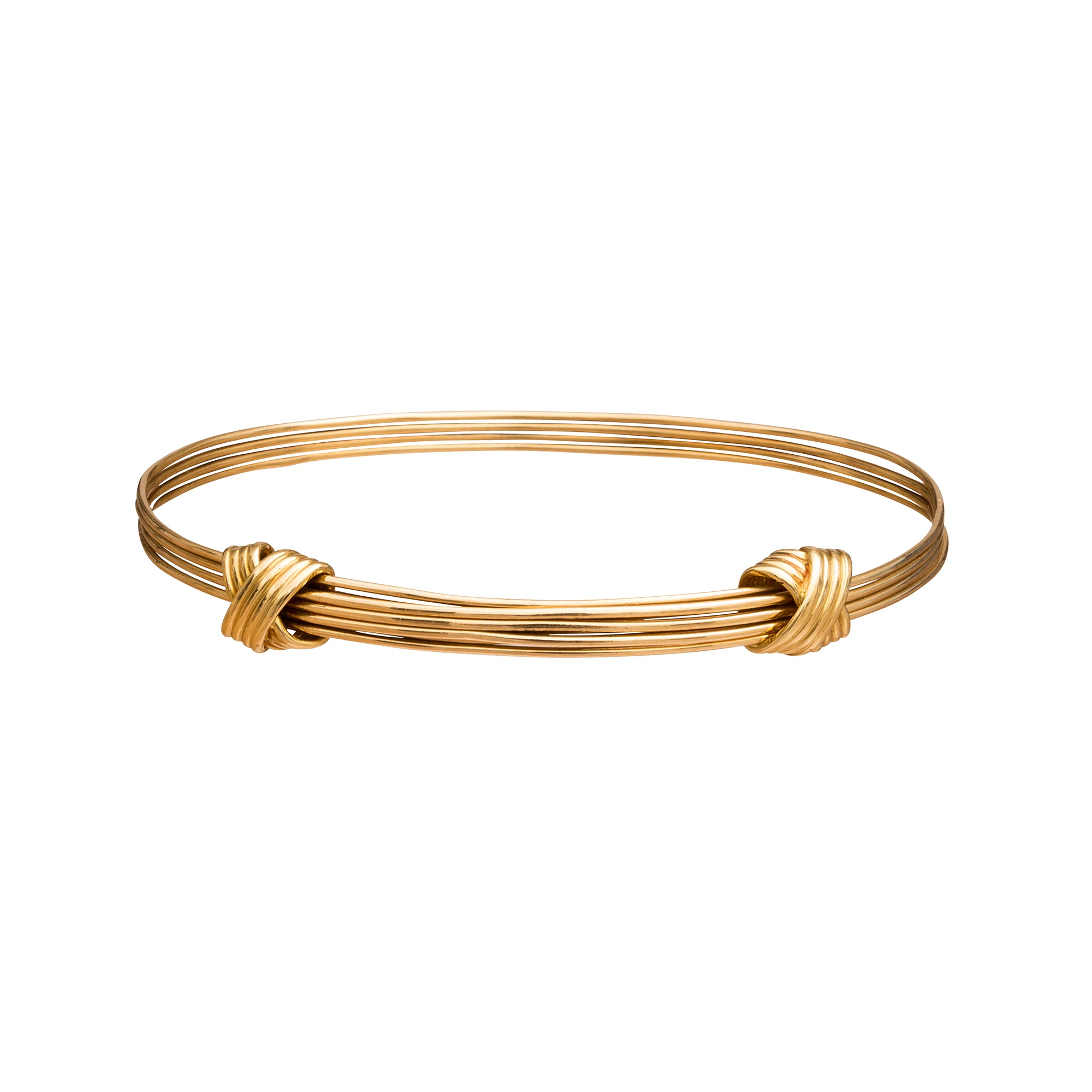 Asprey Adjustable Double Knot Bracelet - Broken English Jewelry