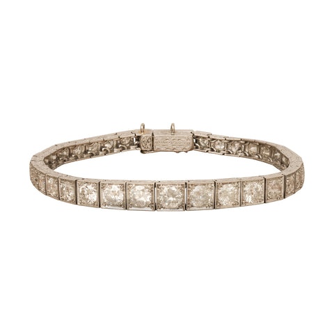 Art Deco Diamond Bracelet from Broken English Jewelry