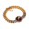 Victorian Garnet Bracelet - Antique & Vintage Jewelry - Bracelets | Broken English Jewelry